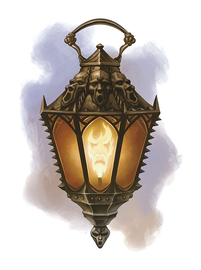 The Soul Flame Lantern (a magical gift from Elorn, the Shaman of Red Hold, to Felrak the Mage after the Siege of Red Hold)