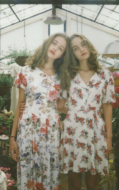 floral dress friends