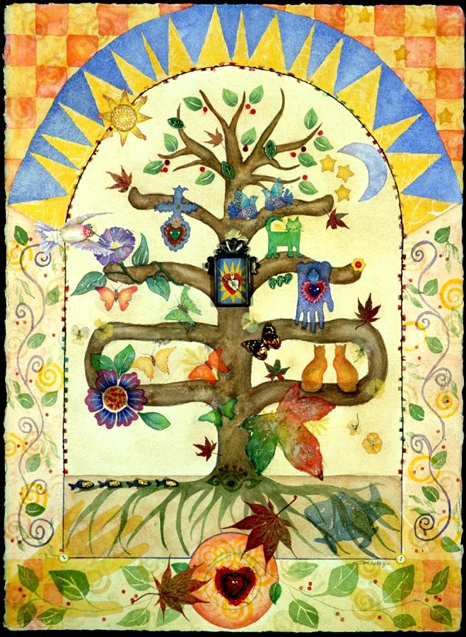 Jane LaFazio ~ Tree of Life: Guadalupe: