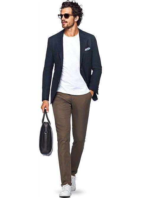 Jacket ネイビー 無地 Havana C962i | Suitsupply Online Store
