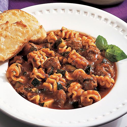 Lazy Lasagna Chili - The Pampered Chef®