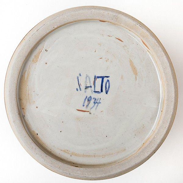 Krukke i stentøj m. brunlig glasur fra 1934 | Klassik.dk - Nordens største udvalg inden for danske møbelklassikere