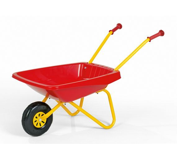 Buy Metal and Plastic Wheelbarrow Toy - Red and Yellow at Argos.co.uk, visit Argos.co.uk to shop online for Toy garden tools and accessories, Outdoor games, Outdoor toys, Toys