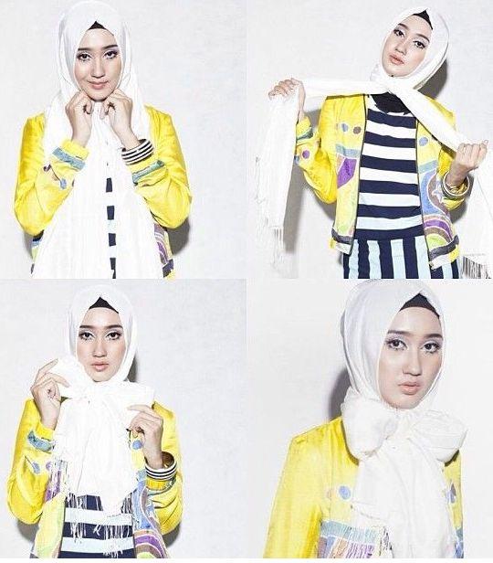 Hadir Kembali Turorial Hijab Segi Empat Dian Pelangi Simple!!! - Desainer terkenal Indonesia ini selalu memberikan inovasi terbaru dan turut andil dalam perk...