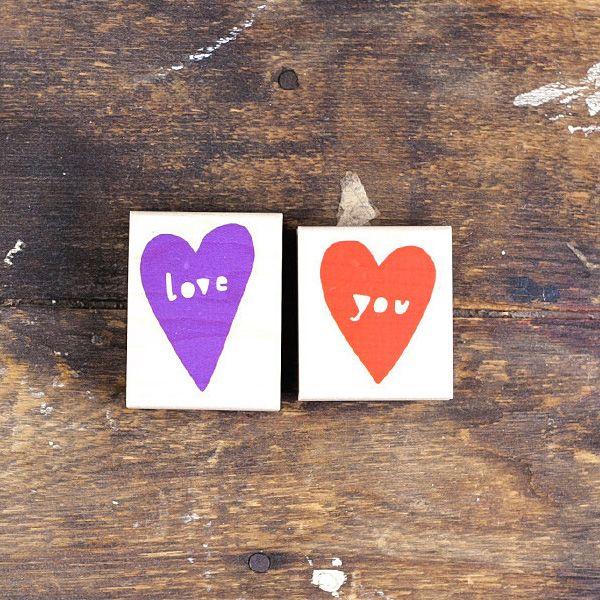 Love You Stamp Set