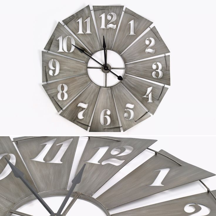 Relógio Ferro Cinza 101,5 cm | referência 74070176 | A Loja do Gato Preto | #alojadogatopreto | #shoponline