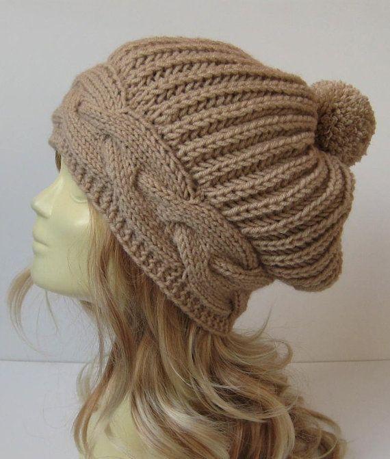 womens hat women slouchy beanie winter hat women by selmahandcraft