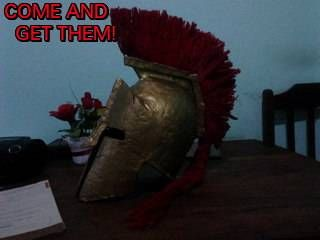 How to Make a Spartan Helmet