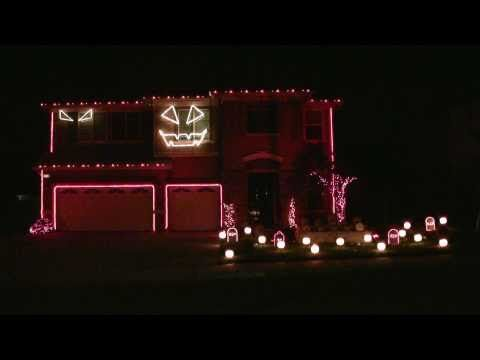 Halloween light show to THRILLER...this is good! Enjoy!