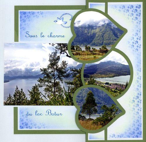 Un des endroits les plus impressionnants de lîle, le mont Batur avec son lac et sa vallée fertile. Ici se mêlent paysans et pêcheurs. Difficile de faire un tri dans les belles photos d'Alain de ces lieux magiques. Une solution pour moi, des pages multiples...