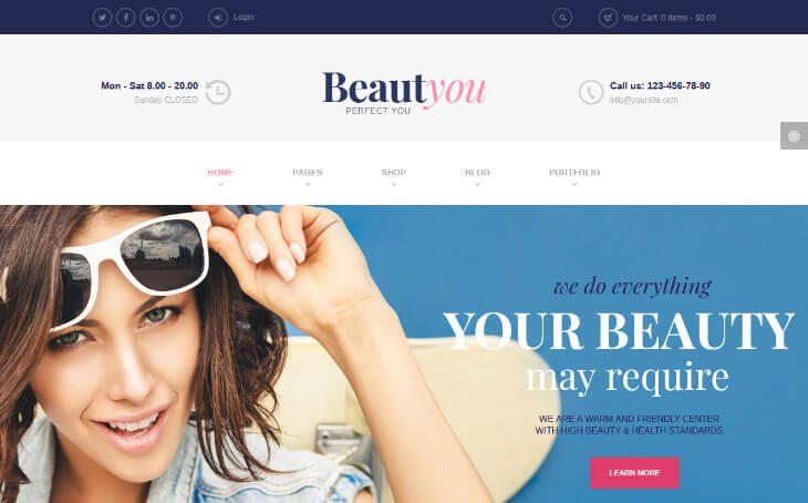 Mejores Plantillas Wordpress Para Barberías Y Salones De Belleza En 2020 Silo Creativo Salon De Belleza Belleza Salones