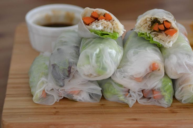 spring rolls soy glazed roasted carrot spring rolls with carrot ...