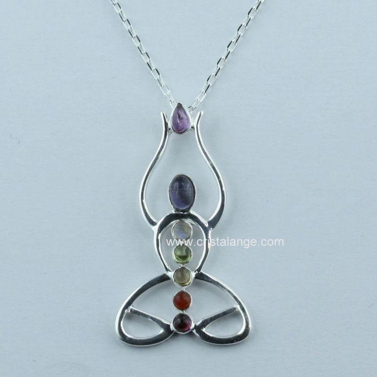 Collier zen et méditation avec pierres 141129 P 1501 : Cristalange : bijoux lithothérapie avec pierres fines naturelles, pierres gemmes et bijoux anges