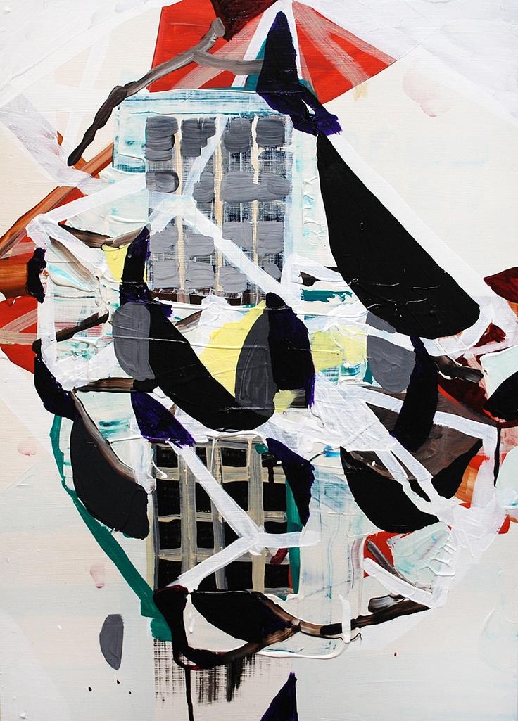 Mesmerism paintings // benjamin gardner // CSU Gallery at Minnesota State University Mankato // October 29th - November 14th, 2012