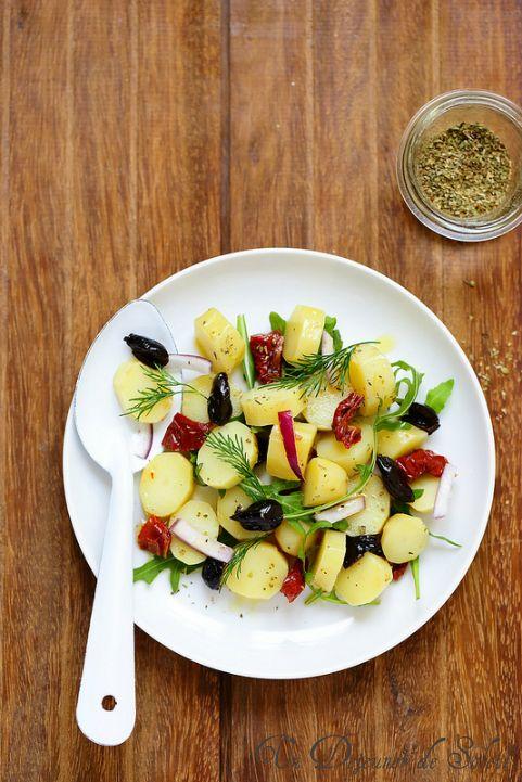 Salade de pommes de terre aux saveurs de Mediterranee ©Edda Onorato