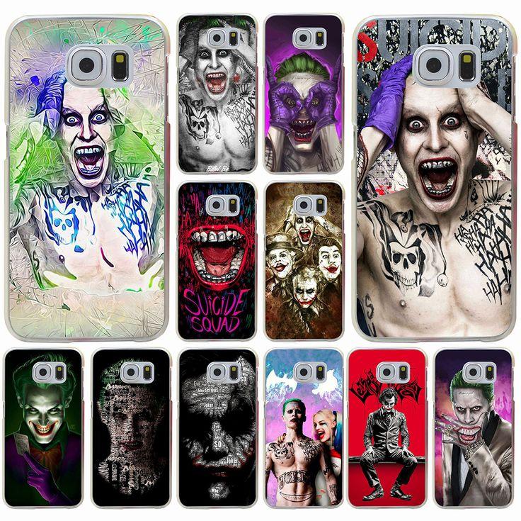 Suicide Squad Joker Harley Quinn Margot Robbie Hard Case for Galaxy A3 A5 A7 8 J5 J7 & Note 2 3 4 5 Grand 2 & Prime //Price: $12.99 & FREE Shipping //     #jaredletojoker #jarley #jokerandharley #dccomics #madlove #thecrazyones #suicidesquad2016