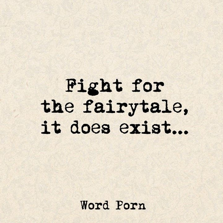 Firght for the fairytale ..............