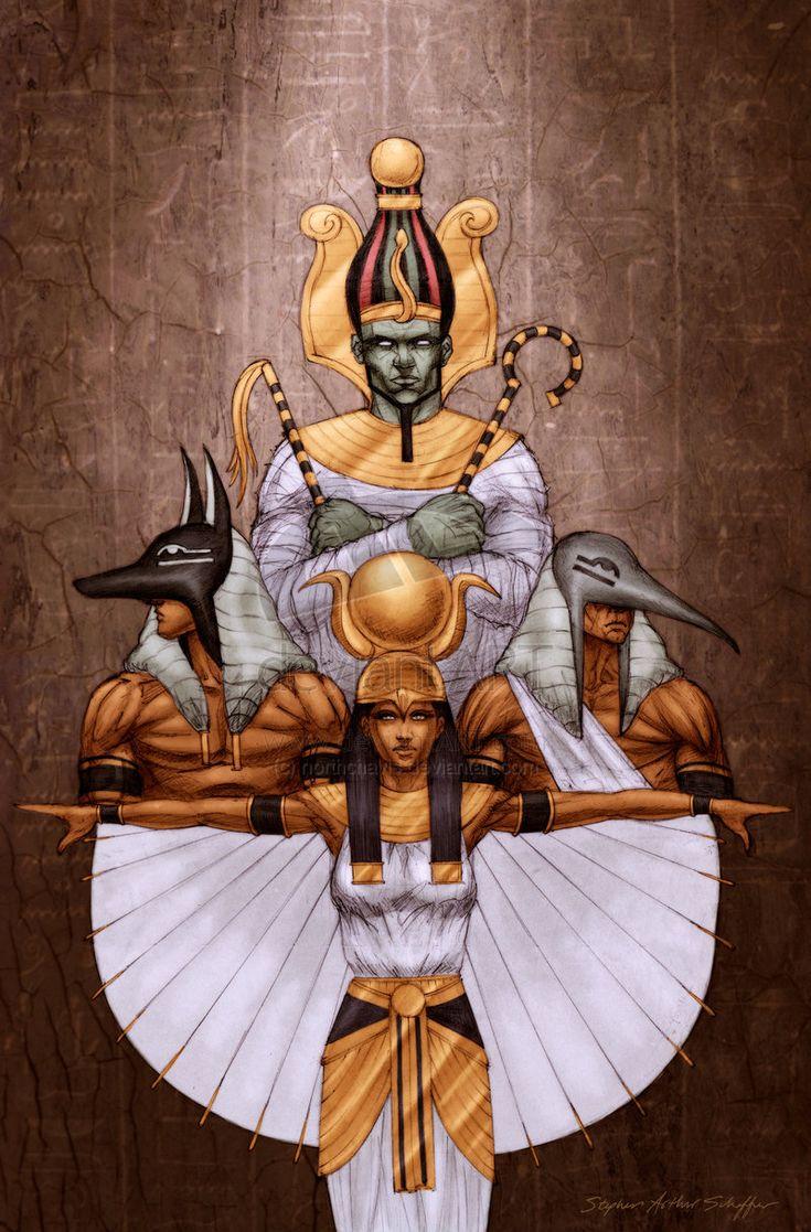 'Egyptian Family Portrait' by northchavis on deviantART.