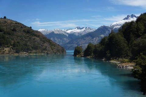 hermoso paisaje del sur de Chile