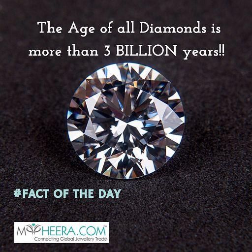 The Shining FACT of the day!! #diamond #facts #startups #myheera