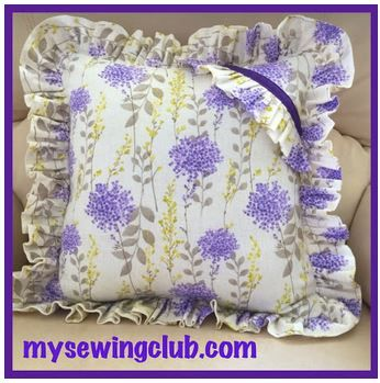 Sharon from my Tuesday class on the Gold Coast, is sewing some beautiful projects. She is now working on Home Dec for her lounge room. She had so much fun using the ruffler foot to create this Gorgeous Cushion. Cheers Fee, http://mysewingclub.com/gold-coast-sewing-classes/
