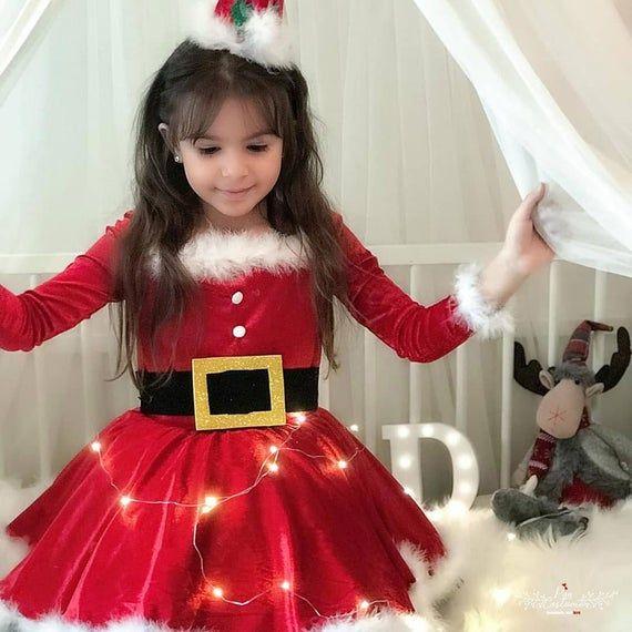 11+ Toddler santa dress ideas