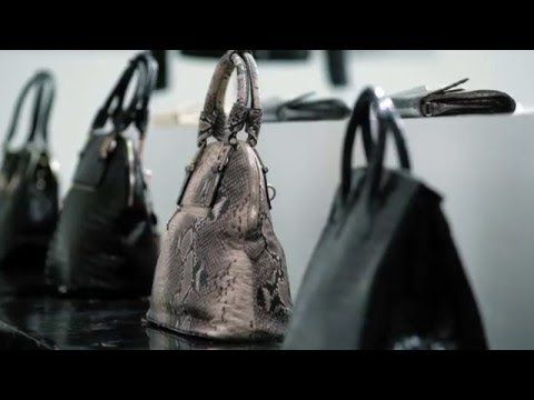 ...to show consumers the suffering behind every exotic-skins bag, belt, jacket, and pair of gloves or shoes