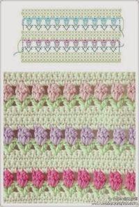 Su Crochet: puntos combinados