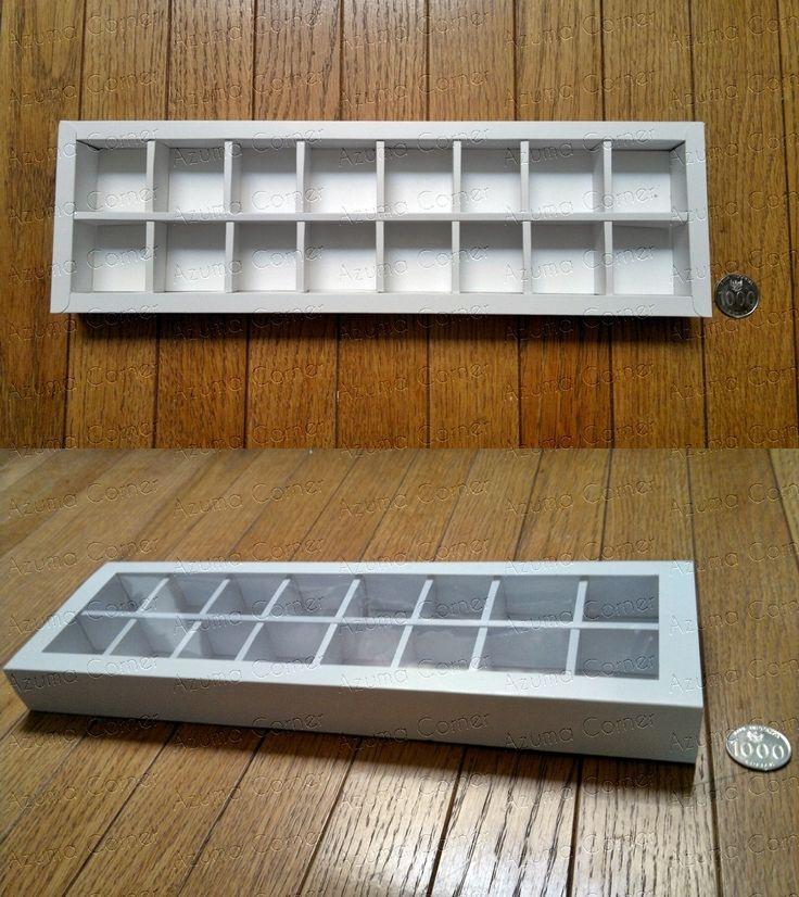 Box Cokelat isi 16  (8x2)
