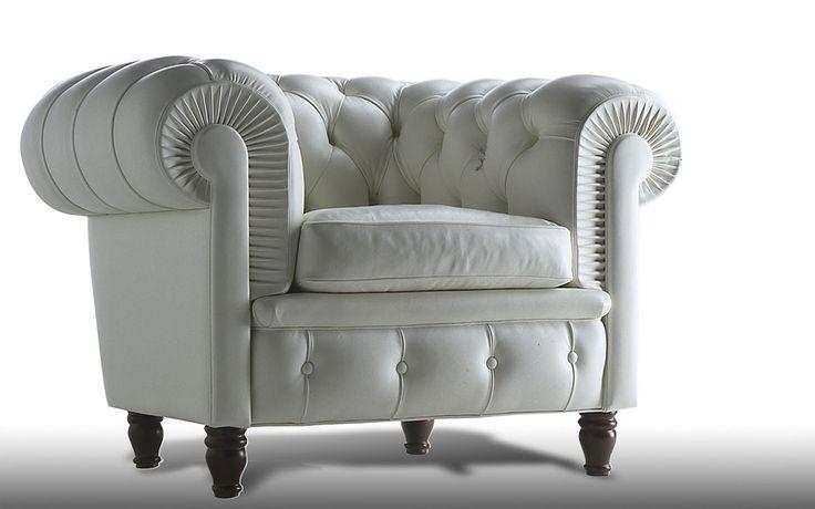 Poltrona Frau Chester Poltrona Frau Chester, een fauteuil van PLAN@OFFICE ontworpen door Poltrona Frau.