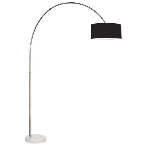 Arc Satin Nickel Floor Lamp Sonneman Armchair/Task Floor Lamps Lamps