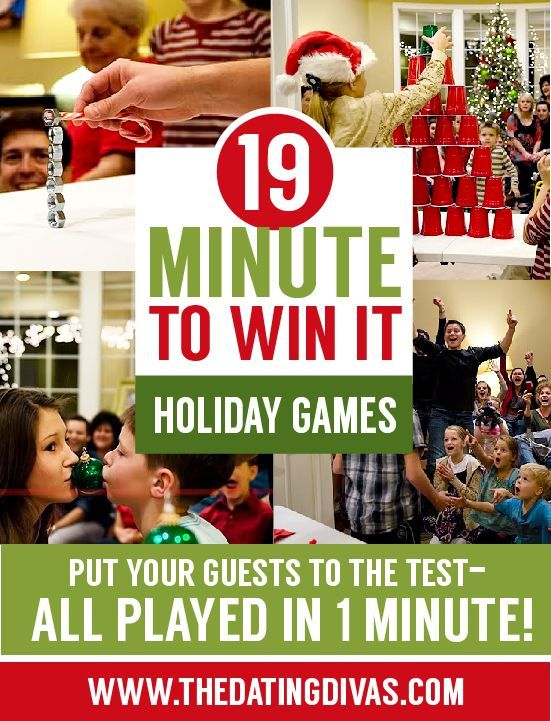 I LOVE these minute games - such a great party activity! www.TheDatingDivas.com