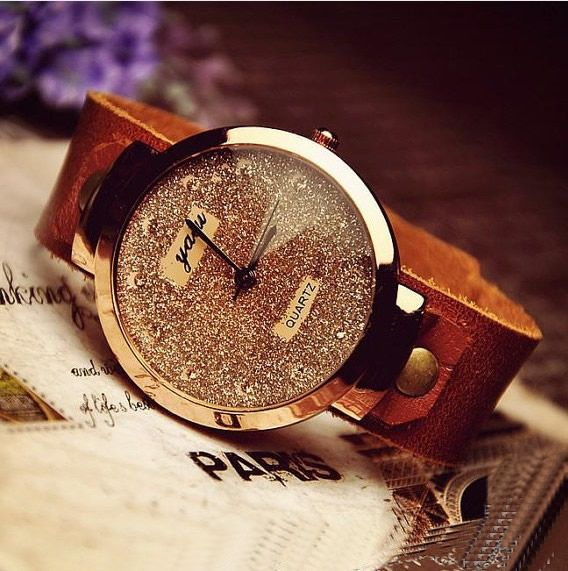 I discovered this Fashion Women's Leather Wrist Watch (WAT0006-6) from Stan Vintage Watches on Keep. View it now.
