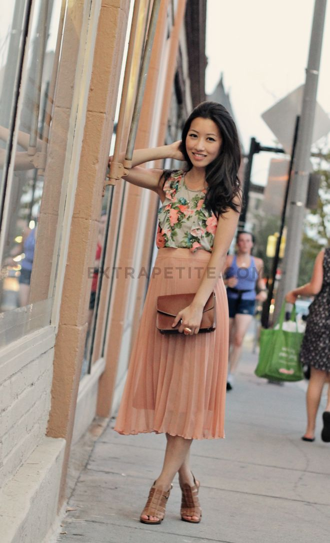 179 best How to Wear It: Pleated Midi Skirt images on Pinterest ...