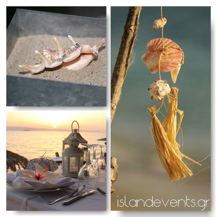 Naxos Beach wedding ideas. Greek island-style weddings