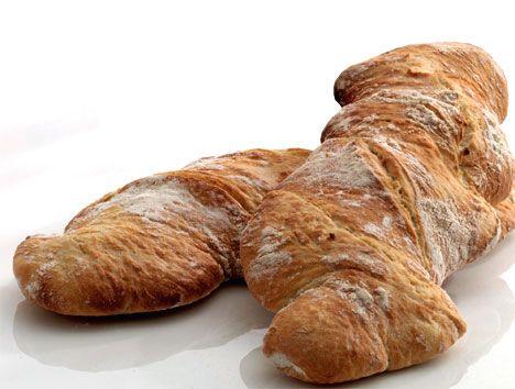 Opskrift på Italiensk brød (ciabatta) fra - Hjemmet