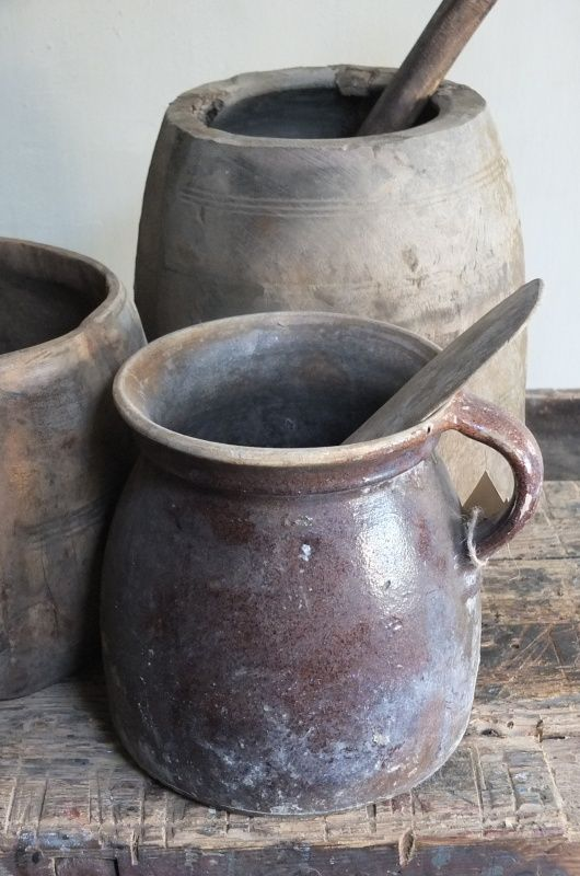 Gress potten.