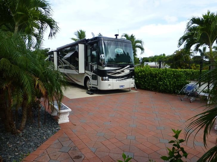 Gulf Waters RV Resort, Fort Myers Beach, Florida