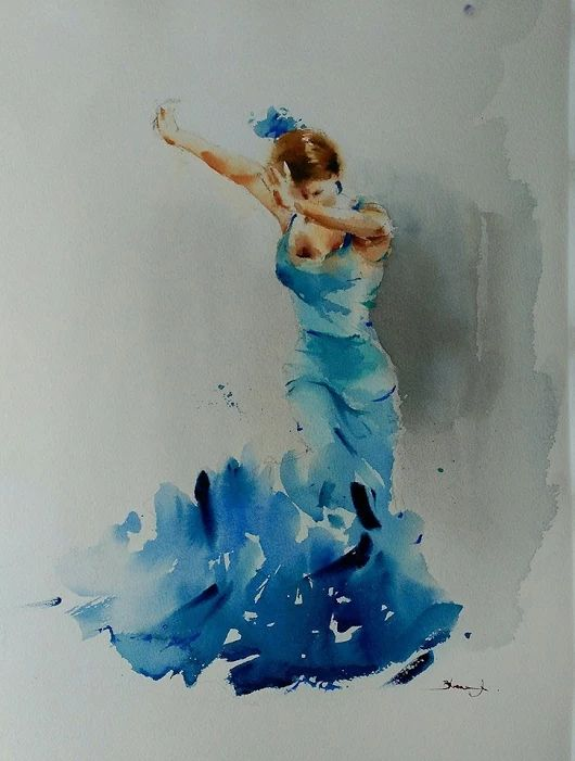 8458 best arte images on pinterest water colors for Cool watercolor tricks
