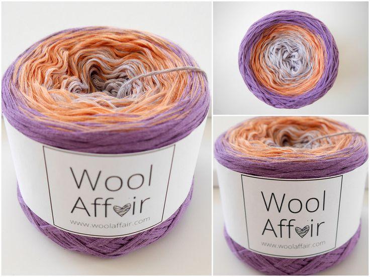 """Wolle - """"SUNSET"""" WOOLAFFAIR - #4 Verlaufsgarn 450m - 120g - ein Designerstück…"""