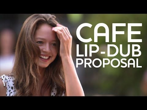Who wouldn't love that? Just imagine how incredibly special you feel!!  Flash Mob Lip-Dub Proposal - GodVine