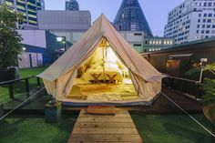 Melbourne Rooftop Glamping