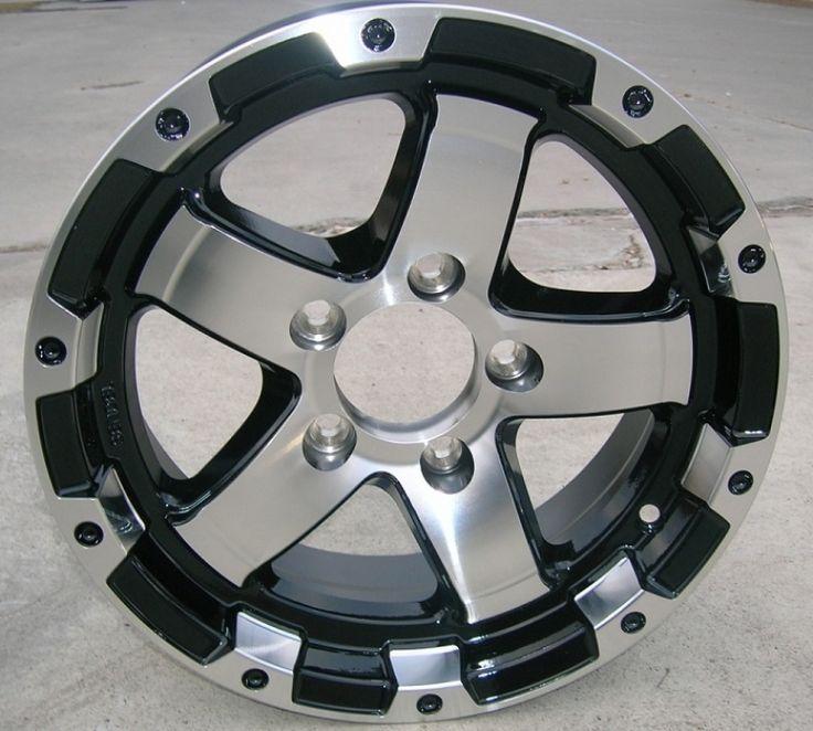 15 Inch Aluminum Trailer Wheels