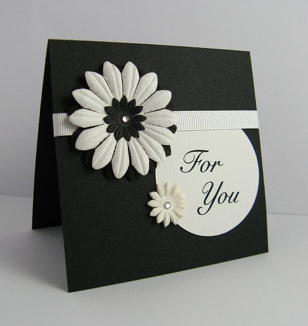 For You - handmade card | Flickr - Photo Sharing!