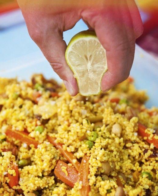 Bulgur-Curry-Salat