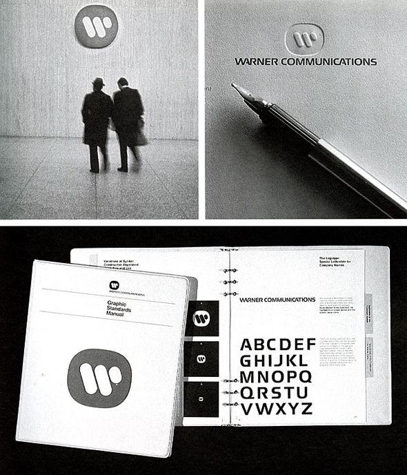 Warner Communications by Saul Bass #branding
