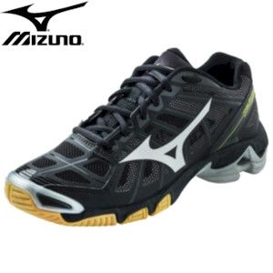 Mizuno Wave Lightning RX2 Mens Volleyball Shoe - Black/Silver