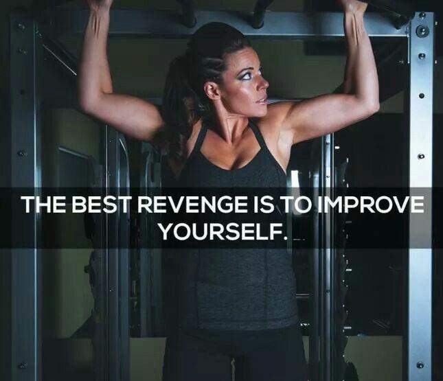 Revenge to yourself