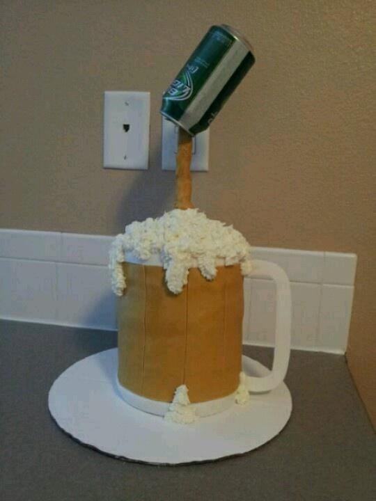 beer mug cake instructions