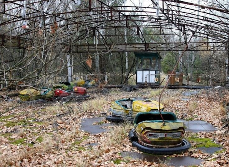 Abandoned theme parks all over the world